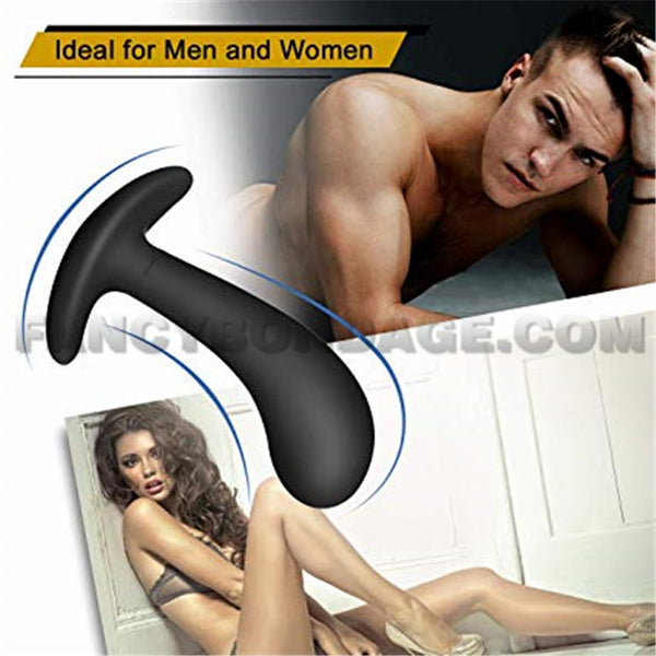 Butt Plug Trainer Kit for Comfortable Long-Term Wear 3 Silicone Anal Plugs Training Set with Flared Base Prostate Sex Toys for Beginners Advanced Users