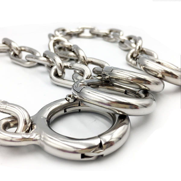 Stainless Steel Toes Cuffs