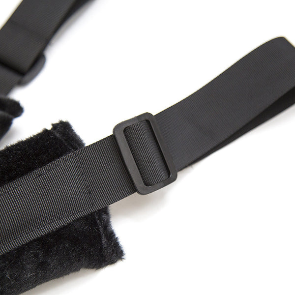 Ass Up Doggy Style Position Strap Kit with Blindfold Sex Position Play Belt