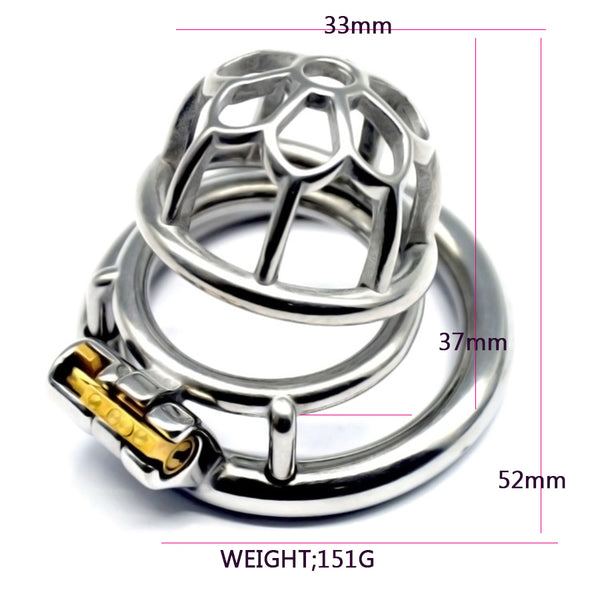 Male Chastity Cage FR01