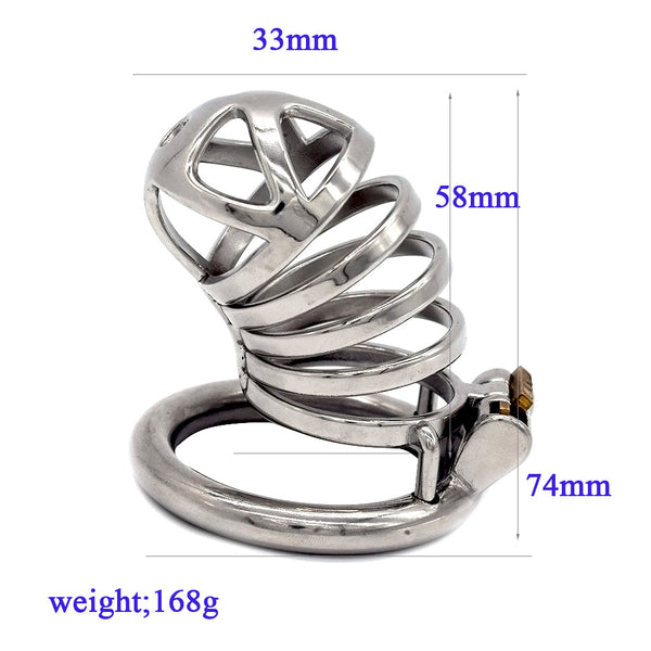 Male Chastity Cage FR012