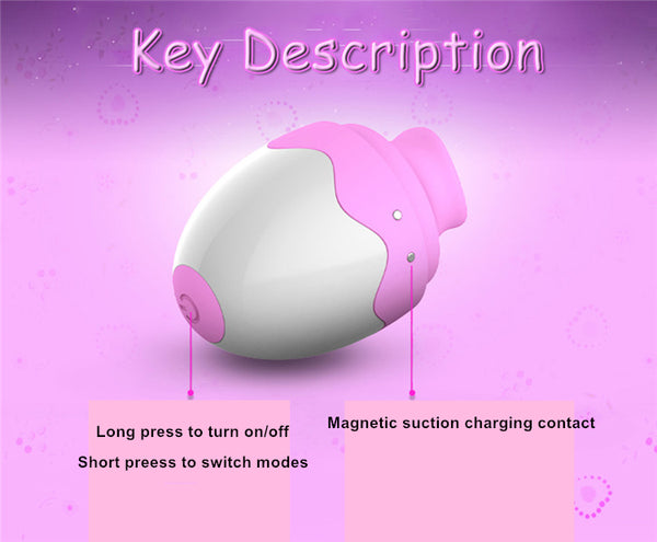 Clitoris Sucker Nipple Stimulator Breast Enlarge Massager Vibrator