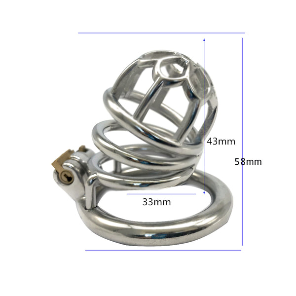 Male Chastity Cage FR02