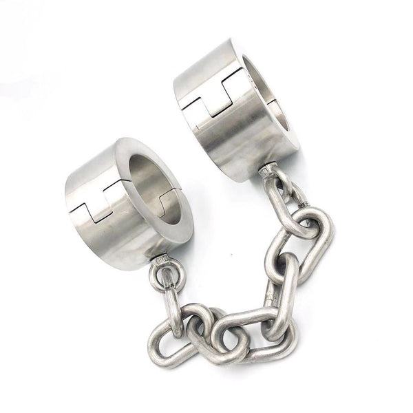 Heavy Duty Stainless Steel Ankle Cuffs 4CM/6CM Height