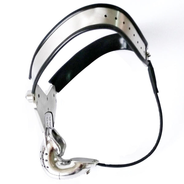 Metal Male Chastity Cage Penis Lock Bondage Stainless Steel Chastity Belt