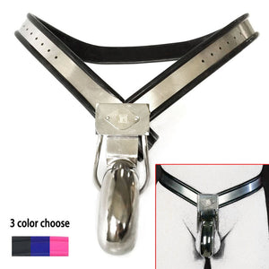 Penis Lock Chastity Device Stainless Steel Male Chastity Belt