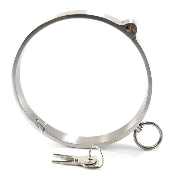 Stainless Steel Collar For BDSM