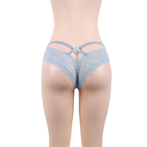 AP5172 Panties For Women Lace Foral Plus Size Seamless Sexy Underwear  See Though Mid Waist Briefs