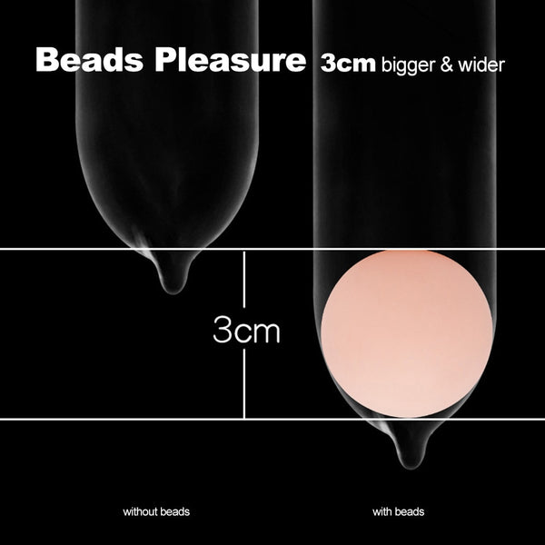 Wholesale 100pcs/Lot Penis Extender Extension Beads Soft Head Attachment Ball For Penis Enlargement Cock Extender