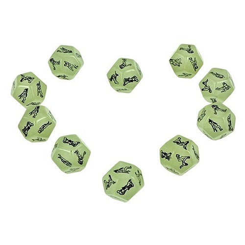 Sex Gambling Luminous Adult Dice(Buy 1 Get 1)