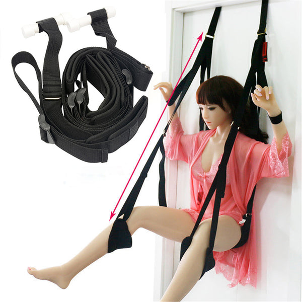 Hanging Door Swing Chair With Cushion Leg Pad Sex Love Aid