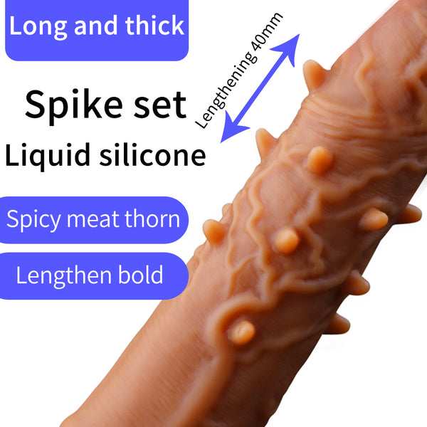 Wholesale 30pcs/Lot Penis Extender Reusable Condoms Realistic Penis Sleeve Dick Cover Dildo Enlargement