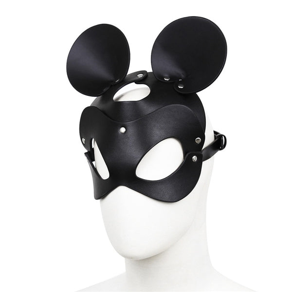 Naughty Kitty Cat Mask Sexy Leather Cat Mask For Women Bdsm Fetish