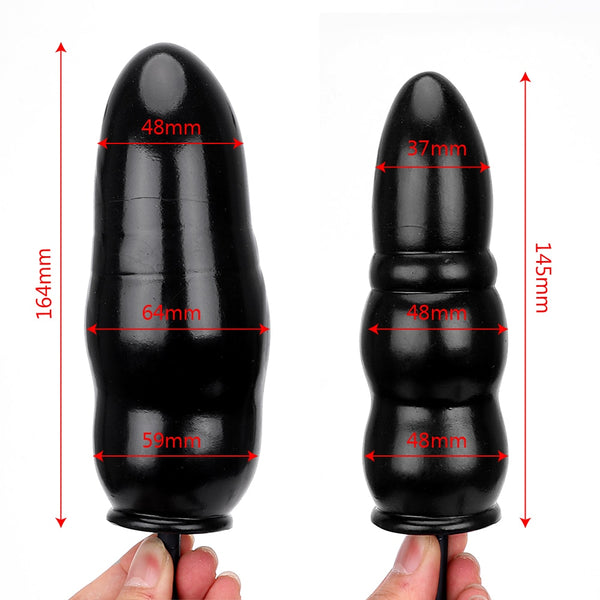 Inflatable Anal Plug Expandable Butt Plug With Pump