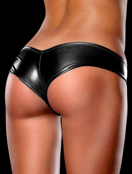 AP5013 Sexy Breifs Ladies Sexy Fashion Unique Faux Leather Style Popular Underwear