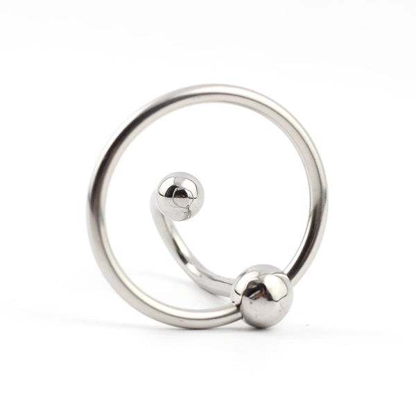 Stainless Steel Halo Urethral Plug With Glans Ring
