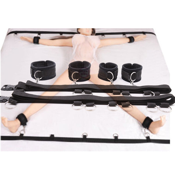 SM Play Under Bed Bondage Restraints Set