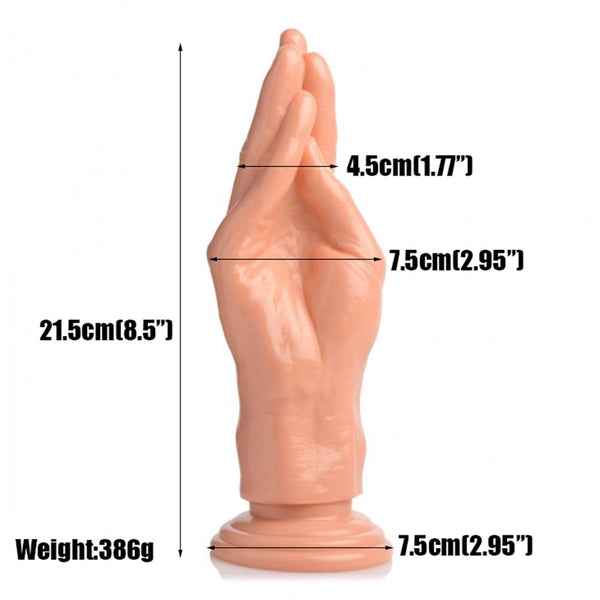 The Stuffer Fisting Hand Dildo Thick Dildos Arm With Strong Suction Cup Huge Butt Plug