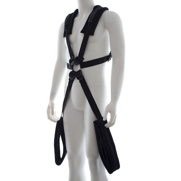 Auxiliary Body Harness Bdsm Sex Swing Plush Bondage Restraints Open Leg Spreader Couple Flirting Swing
