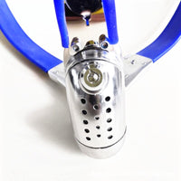 Male Chastity Belt Stainless Steel Chastity Cage with Removable Anal Bead Plug