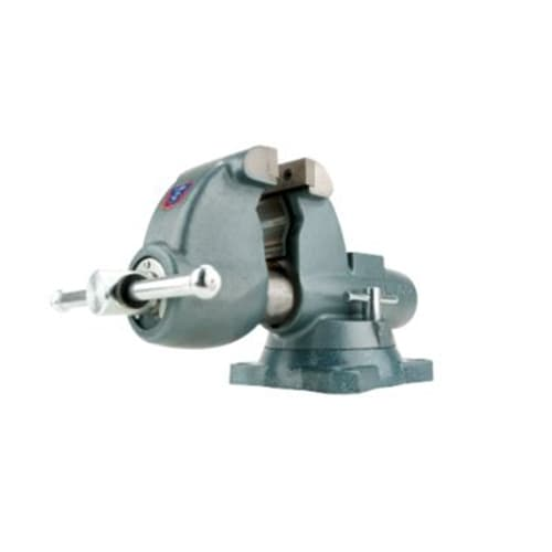 "Wilton 10225 C-1, Combination Pipe and Bench Vises - Swivel Base, 4-1/2"" Jaw Width, 6"" Jaw Opening, 4-3/4"" Throat Depth"