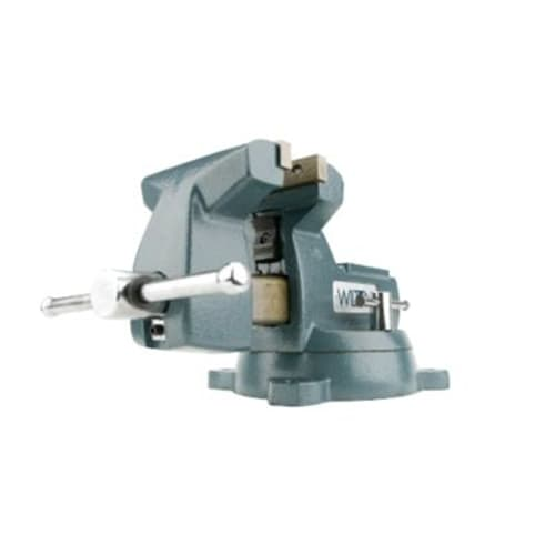 "Wilton 21800 748A, 740 Series Mechanics Vise - Swivel Base, 8"" Jaw Width, 8-1/4"" Jaw Opening, 4-3/4"" Throat Depth"