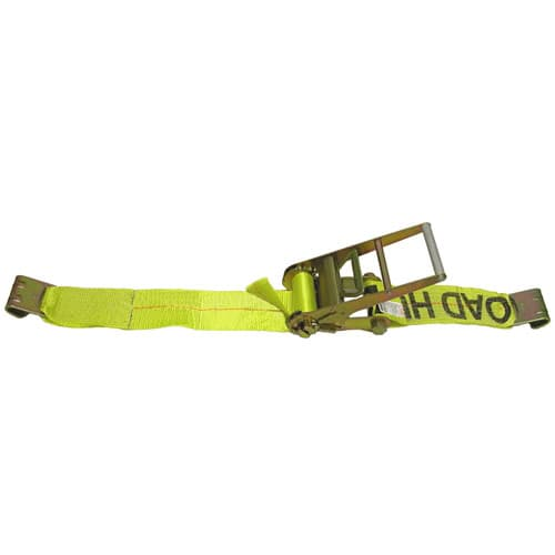 "Lift All 26425 Loadhugger Ratchet Tie Down Strap with Flat Hook Ends, 4""x30'"