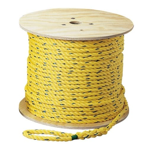 Ideal 31-846 Pro-Pull™ Polypropylene Rope, 3/8 inch diameter x 1200 feet long