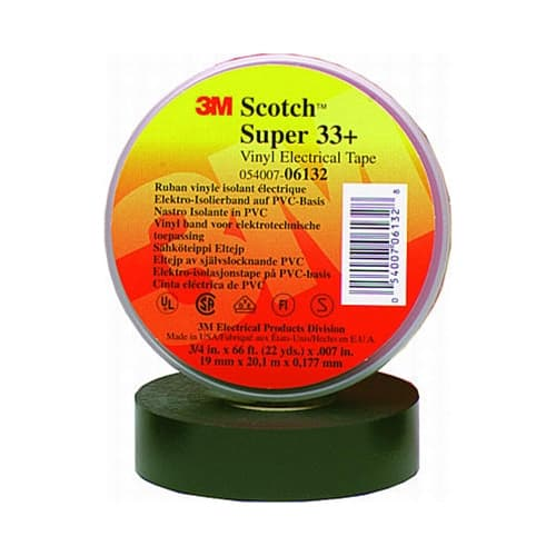 "3M 33 3/4""x 66' Electrical Tape"