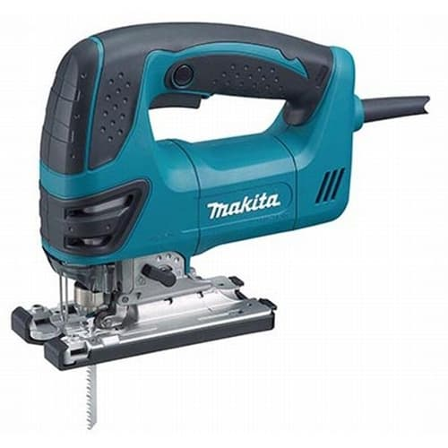 Makita 4350FCT Top Handle Jig Saw, Tool-less, L.E.D. Light, 800-2,800 SPM, var. spd., orbital, case