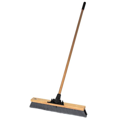 "Weiler 44600 24"" Pro-Flex Border Sweep with 60"" Wood Handle"