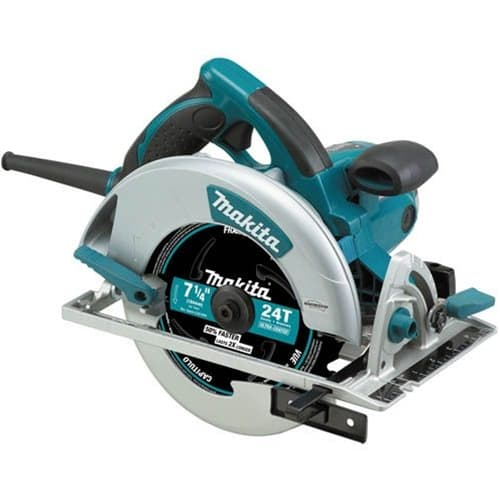 "Makita 5007MG 7-1/4"" Magnesium Circular Saw, 15 AMP, L.E.D. Light, case"