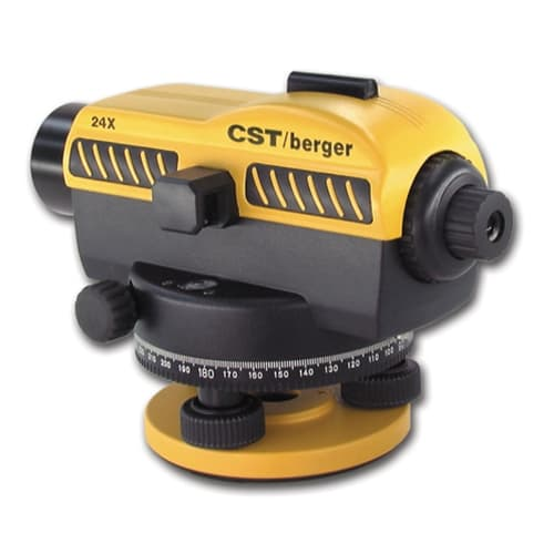 CST Berger 55-SAL24ND 24x Automatic level, w/stadia, and 360