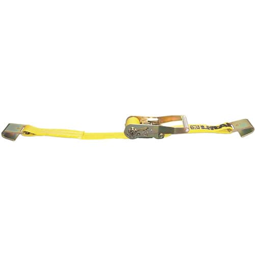 "Lift All 61001 Loadhugger Tiedown Ratchet Buckle with Flat Hook, 2""x27' #10000"