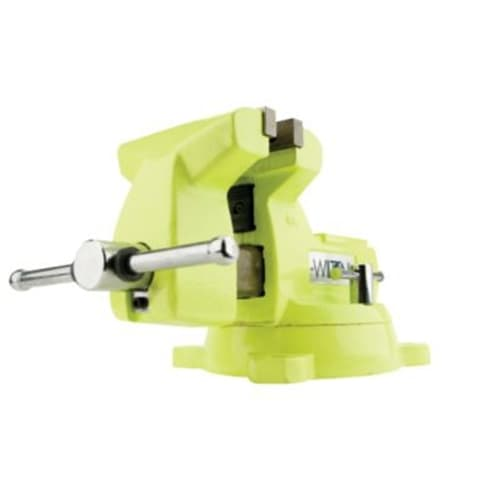 "Wilton 63187 1550, High-Visibility Safety Vise, 5"" Jaw Width, 5-1/4"" Jaw Opening"