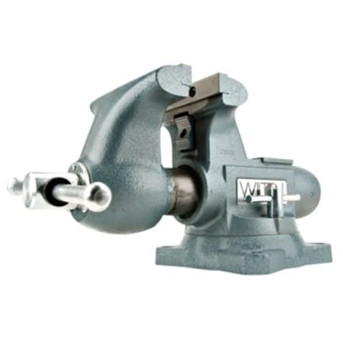 "Wilton 63200 1755, Tradesman Vise, 5-1/2"" Jaw Width, 5"" Jaw Opening, 3-3/4"" Throat Depth"