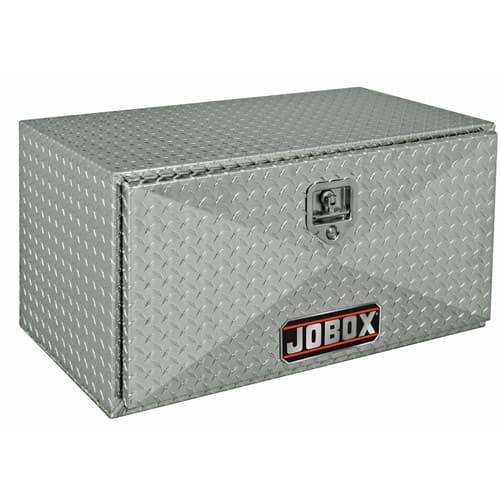 "Jobox 755980 24"" X 14"" X 12"" ALUMINUM UNDERBED BOX"