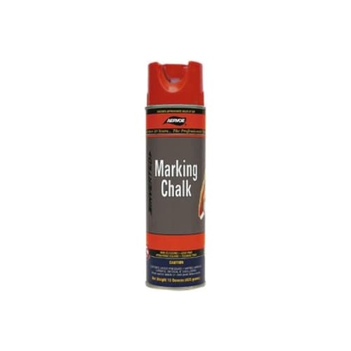 Aervoe 216 Red Temporary Marking Chalk Spray, 20 oz