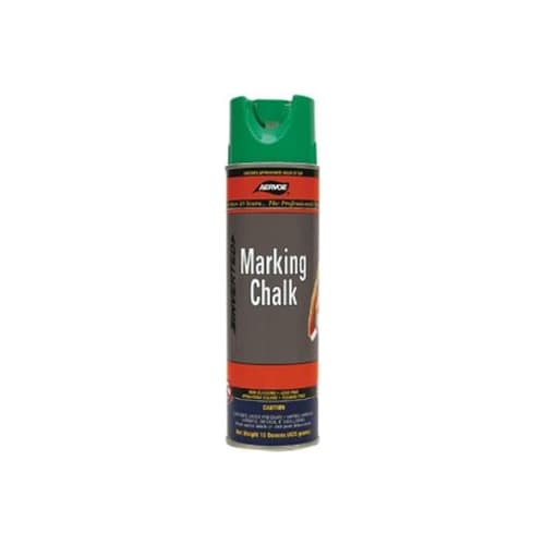 Aervoe 219 Green Temporary Marking Chalk Spray, 20 oz