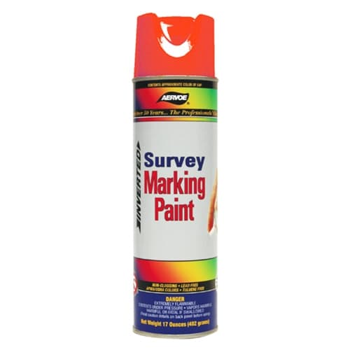 Aervoe 201 Red Marking Spray Paint, 20 oz