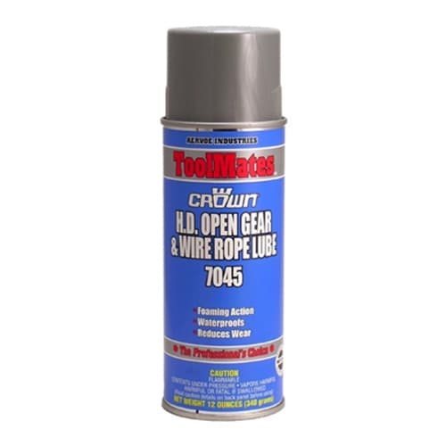 Aervoe 7045 H.D. Open Gear & Wire Rope Lube, 16 oz
