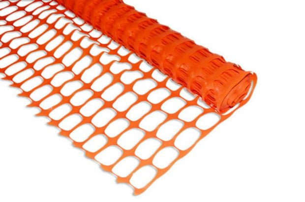 Boen SF-4100 4' x 100' Orange Safety Snow Fence - O-Ring