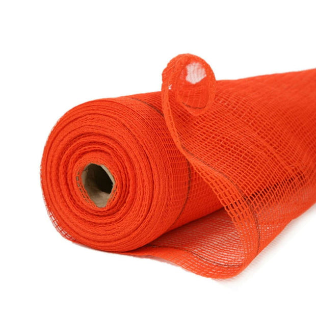 "Boen SN-20010 5.6' x 150' Safety Netting FR, 1/4"" Holes, Orange"
