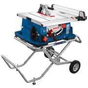 Bosch 4100-10 10 In. Worksite Table Saw with Gravity-Rise Wheeled Stand