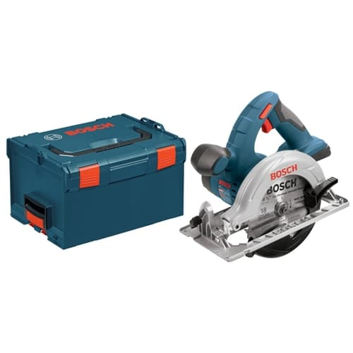 "Bosch CCS180BL 18V Lithium-Ion 6-1/2"" Circular Saw Bare Tool with L-Boxx-2"