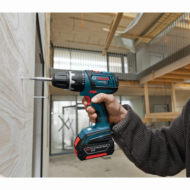 Bosch CLPK232A-181L 18V Lithium-Ion Cordless 2-Tool Combo Kit with L-Boxx Case