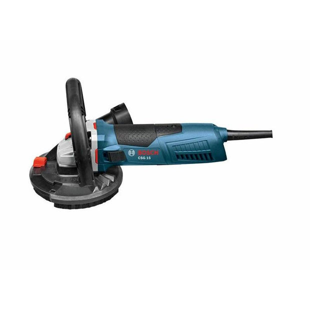 "Bosch CSG15 12.5 Amp Corded 5"" Concrete Surfacing Grinder w/Dust Shroud"