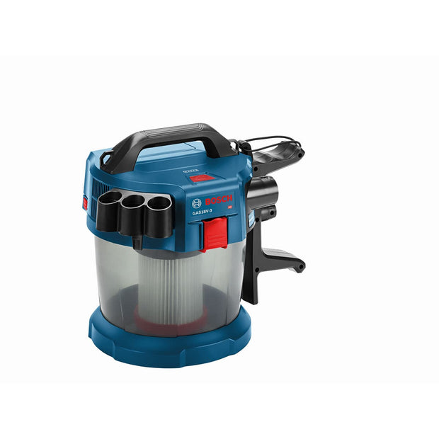 Bosch GAS18V-3N 18V 2.6-Gallon Wet/Dry Vacuum Cleaner with HEPA Filter
