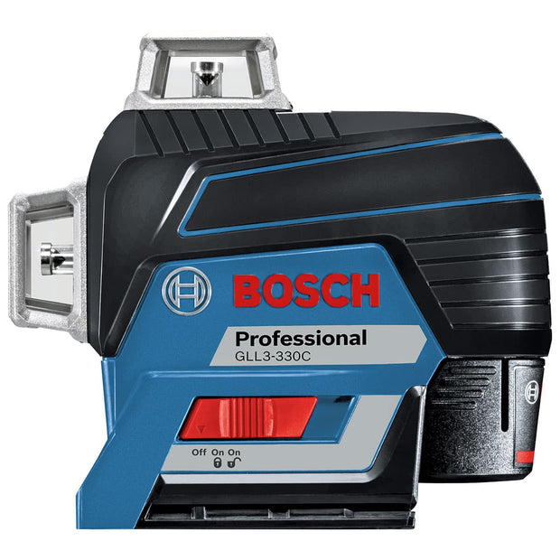 Bosch GLL3-330C 360? Connected Three-Plane Leveling and Alignment-Line Laser