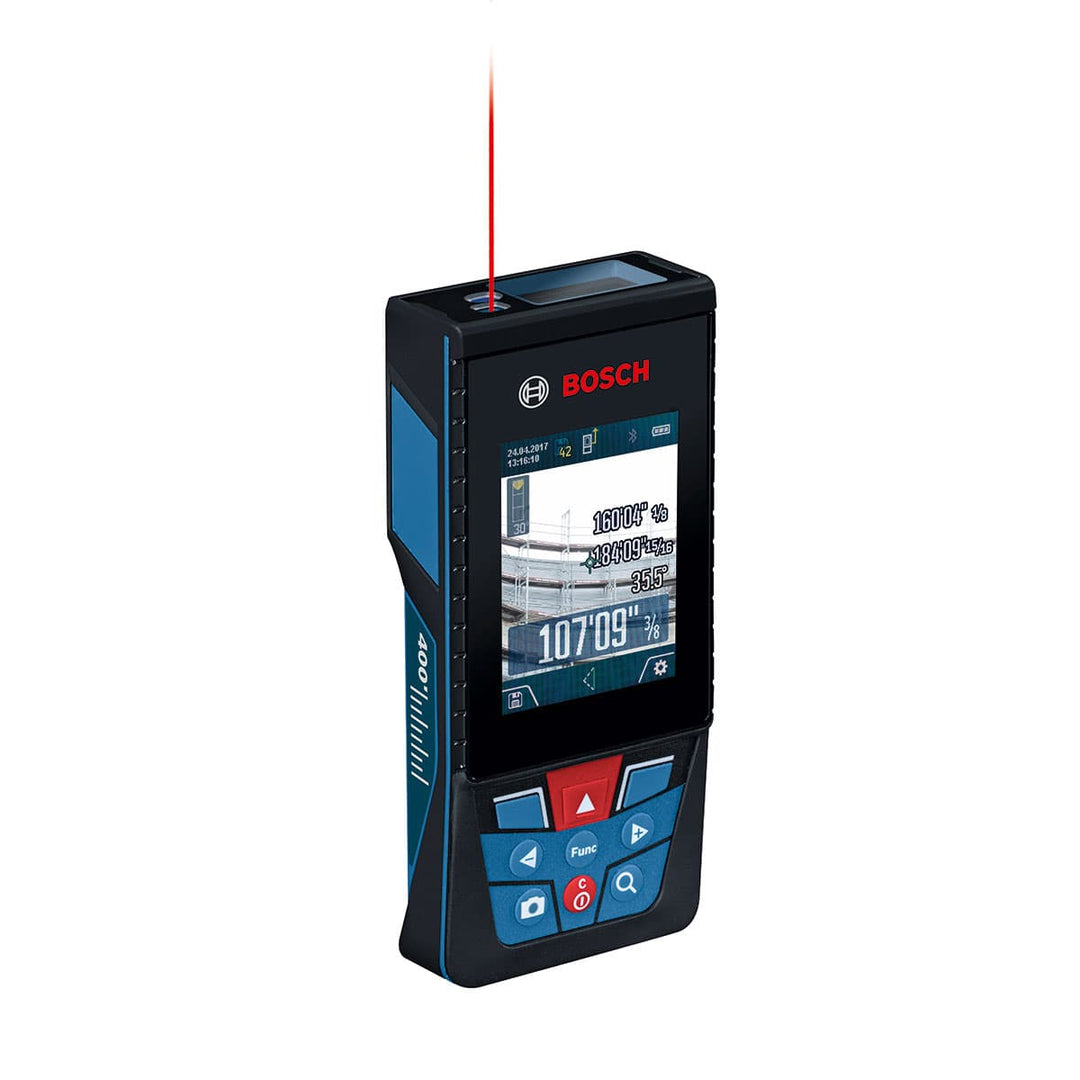 Image of Bosch GLM400CL BLAZE Outdoor 400 Ft Laser Measure with Camera